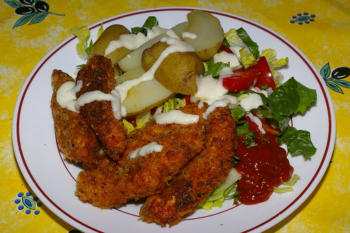 Chicken goujons by La belle dame sans souci
