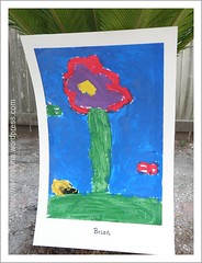 brian poster of a flower