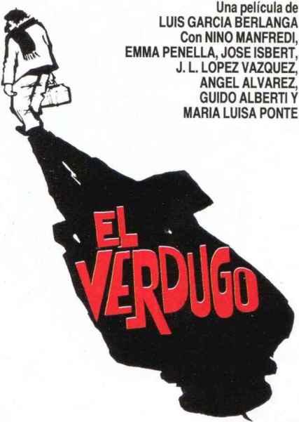 EL VERDUGO - LUIS GARCIA BERLANGA - 1963 - poster