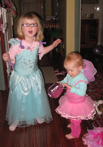 Two fairy princesses by you.
