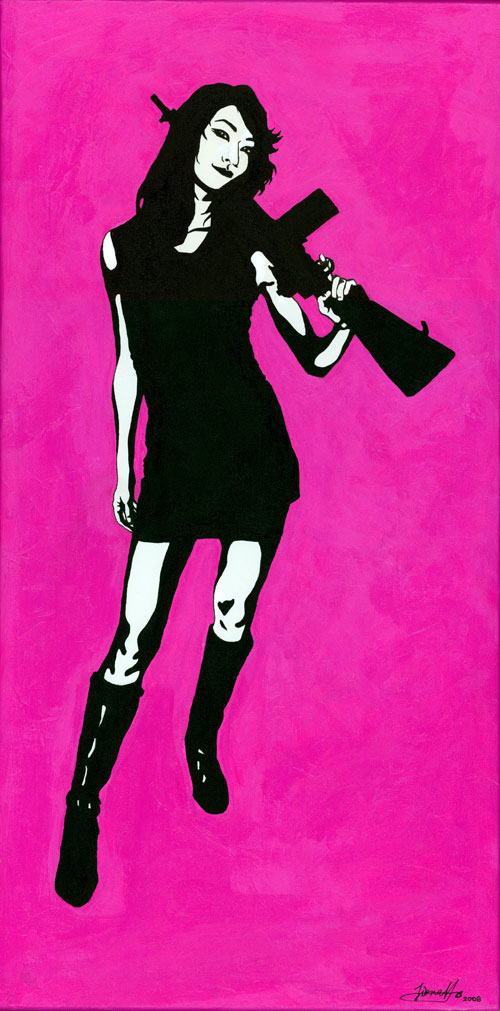 fiona-ho-painting-pink-kimoko