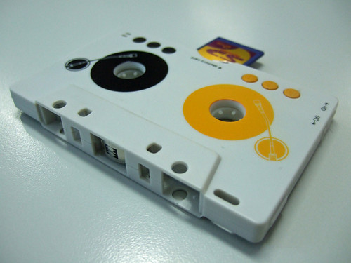 cassette mp3 player, front