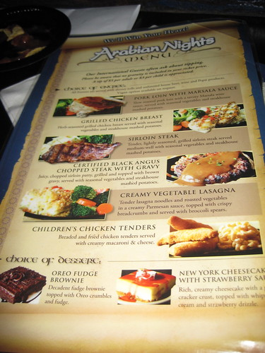 Arabian Nights Dinner Attraction