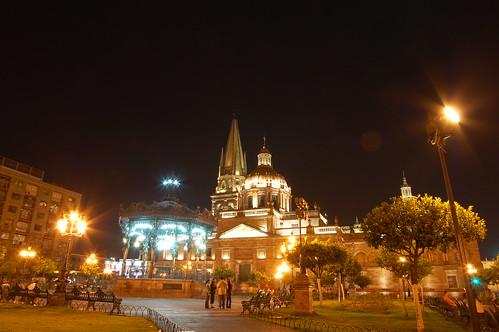 Plaza de Armas y Catedral