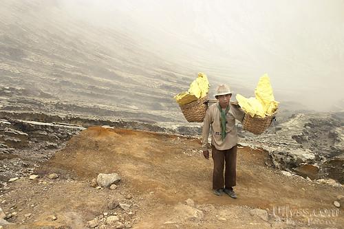 Mount Ijen Sulphur Crater
