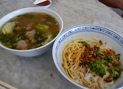 Penang Aug 08 - 25 Beef noodles, dry version