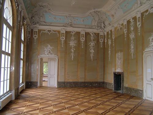 Schloss Schönhausen (Baubegehung)