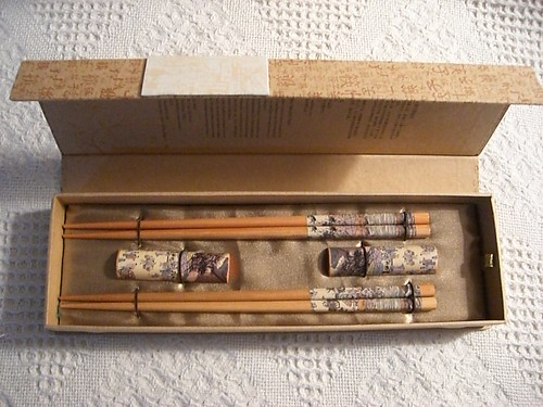 Real Chinese chopsticks!