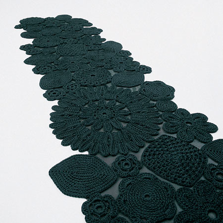 paola lenti crochet rugs