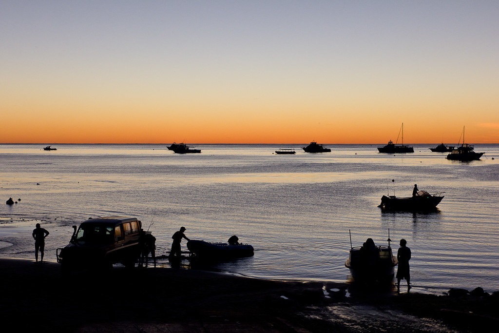J46 / Silhouette : Ningaloo Reef
