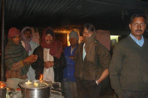 Jaipur路上1-73路邊賣茶