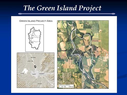 McKenzie River Trust Green Island Project