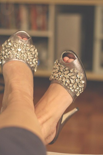 Some shoes for a special occasion