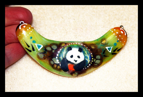 New panda pendant I will be beading this week