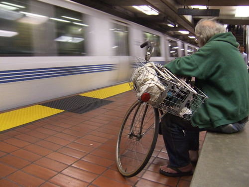 Integrated transport excitement - you can take bikes on the BART!