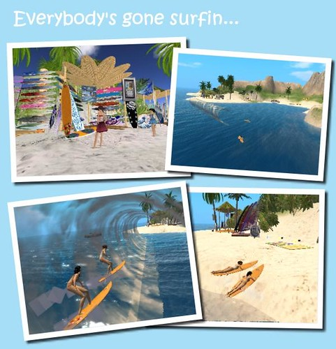 Everbody's gone surfin