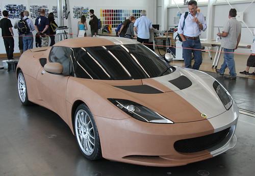 Lotus Evora - clay concept
