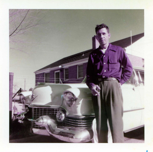 Granddaddy & His Pontiac, Augusta, Georgia, February 11th, 1956, photo © 2008 by QuoinMonkey. All rights reserved.