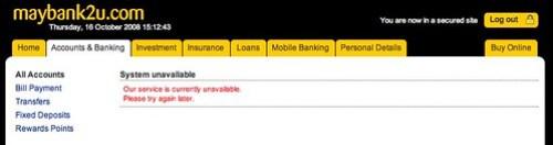 Maybank2u.com slowarse
