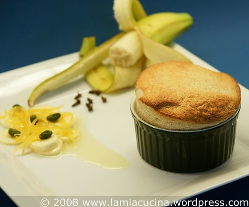 Banana soufflee