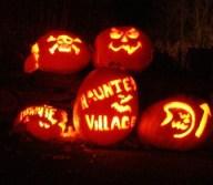Holy Cross Haunted Halloween Village in Goshen, MA