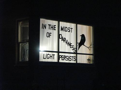 In the midst of darkness, light persists
