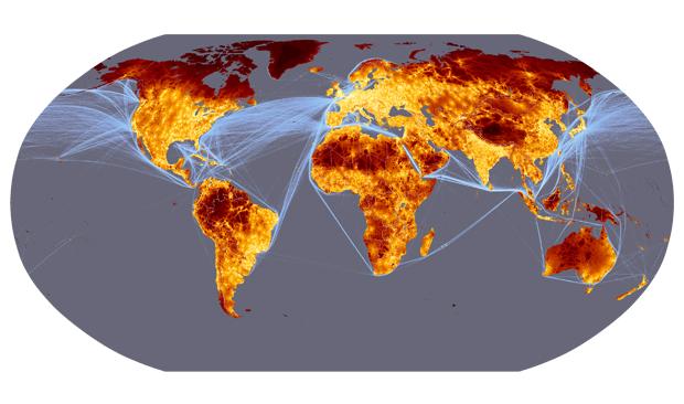 Mapa de accesibilidad mundial
