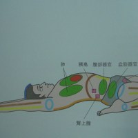 YOGA_仰臥英雄式(Hero's Pose in Lying Pose; Supta Virasana)