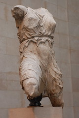Statue from the Elgin Marbles at the British M...