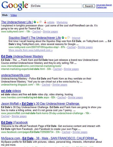 Google Subscribed Links - Ed Dale Search-Before