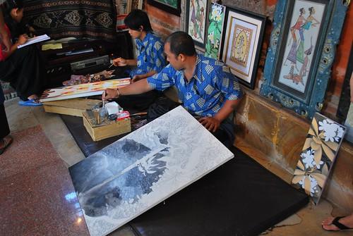 Artisans in Ubud