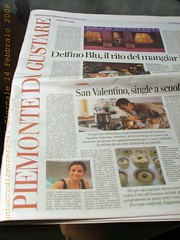 Untoccodizenzero, Il Giornale-14 Febbraio 2008 by Un tocco di zenzero
