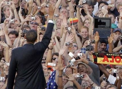 Obama à Berlin par vous