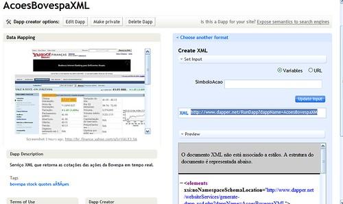Dapper em XML