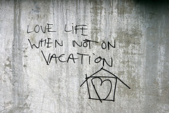 Day 257: Love Life When Not On Vacation
