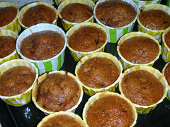 The Carrot Cake in Cups