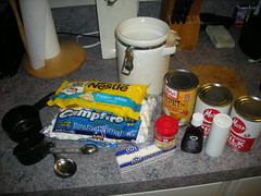 Pumkin Pie Fudge Ingredients
