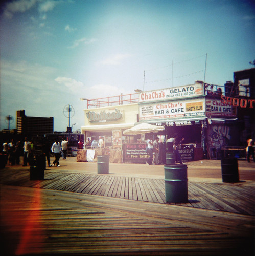 hot dogs en Coney Island, New York