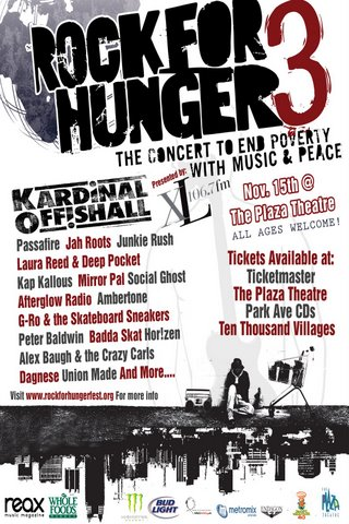 3rd Annual Rock for Hunger