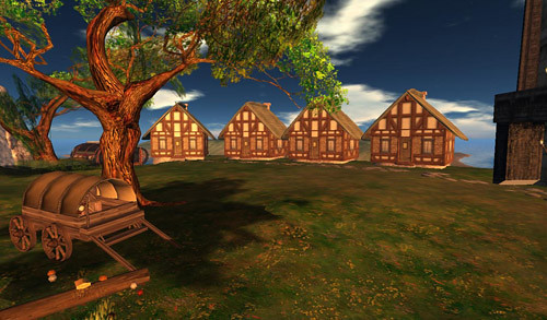 Medieval Style Village