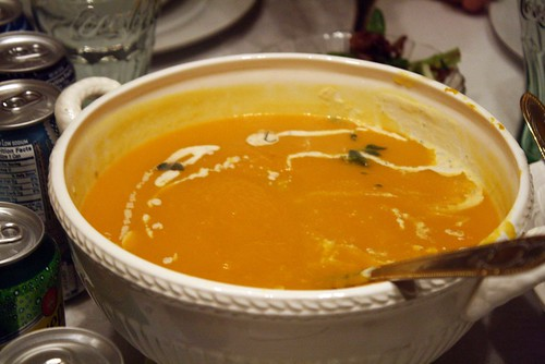 Thanksgiving Butternut Squash Soup