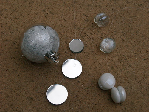 Ornaments for snowfall tree