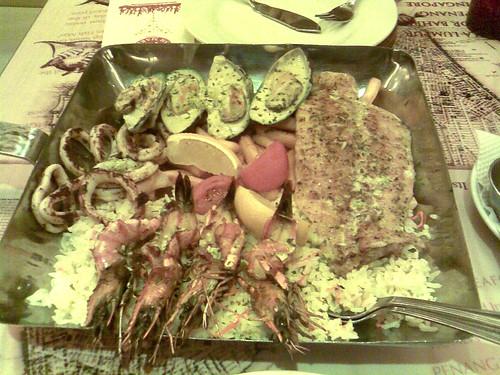 Manhattan Fish Market - Grilled Platter for 2