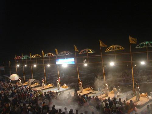 Ganges River1-37河壇儀式