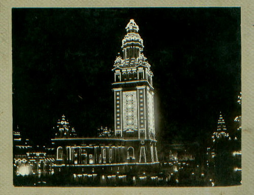 World's Fair lighted tower