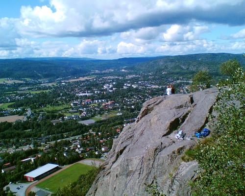 On top of Kolsaas