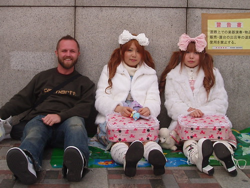 Me, mingling with the locals in Tokyo