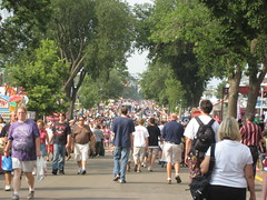 Day 1 crowd at MN State Fair