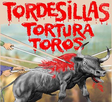 Toro de la Vega Tordesillas Tortura animal.