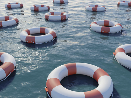 How can you stay afloat when your financial situation is sinking?